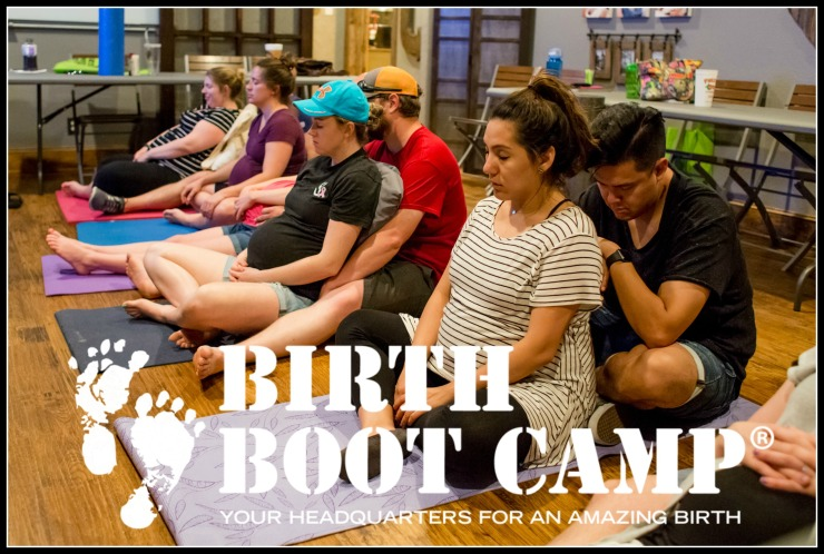 birth boot camp class for couples