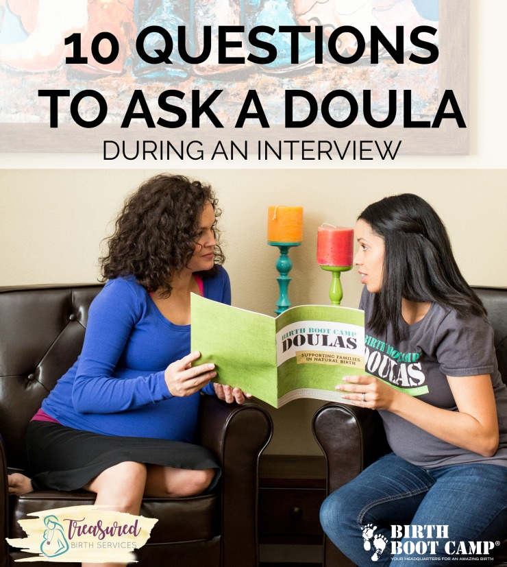 10 questions to ask a doula